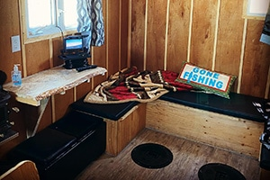 Ice Fishing Hut Rentals Sylvan Lake
