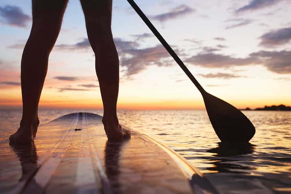 Paddle Board Rentals in Sylvan Lake, Alberta