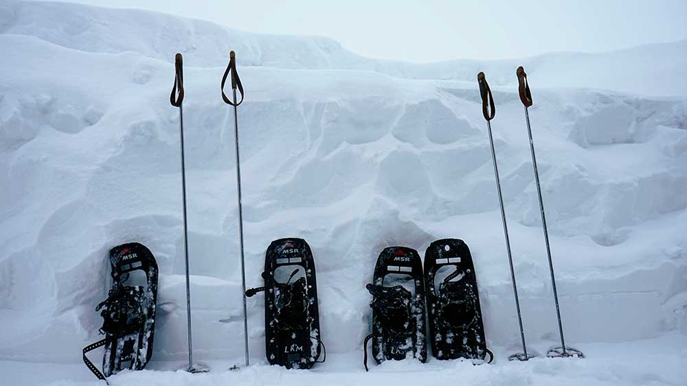 Snow Shoe Rentals Sylvan Lake Alberta